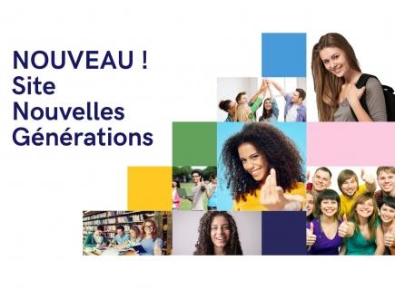 Nouveau ! Site Nouvelles Générations.