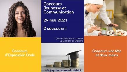 FINALE DU CONCOURS JEUNESSE ET COMMUNICATION : La Guerche de Bretagne le Samedi 29 mai 2021
